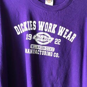 Dickies T-shirt XXL purple